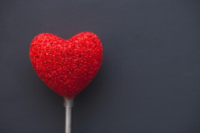 Сувенир в виде сердца