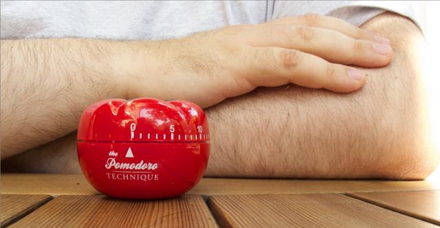 Таймер помидор для техники управления временем Помодоро