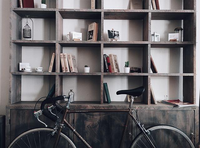 Велосипед в стиле ретро