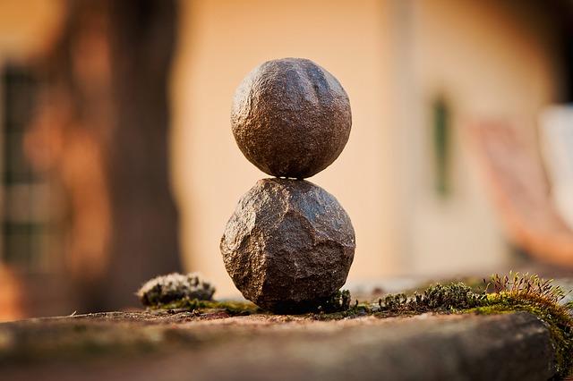 Камни, гармония, баланс