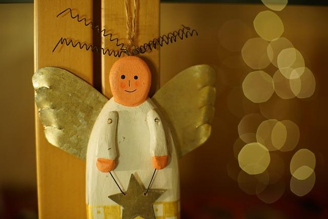 Елочная игрушка ангел