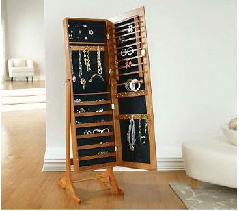 Напольный шкафчик для организации ювелирных украшений