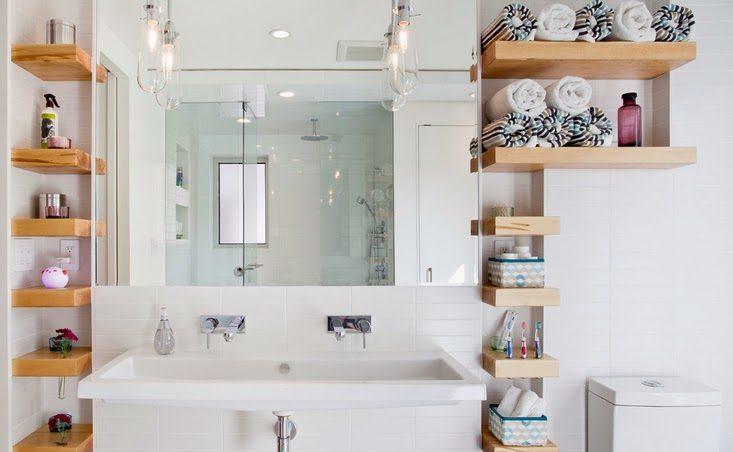 Хранение мелочей в ванной комнате