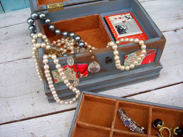 Шкатулка для хранения бижутерии