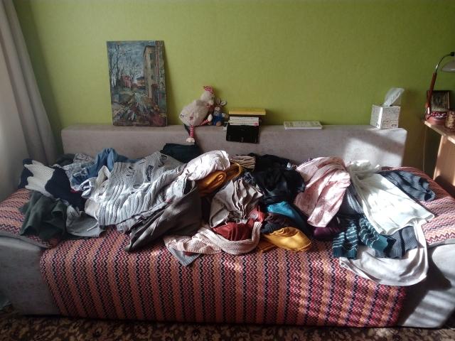 Разбарахление гардероба
